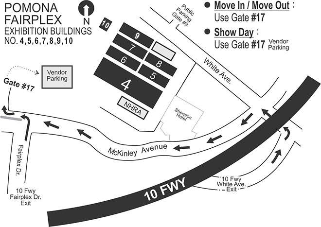 Asian american expo parking map
